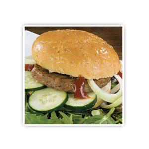 金牌羊漢堡肉
