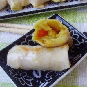 中號咖喱卷