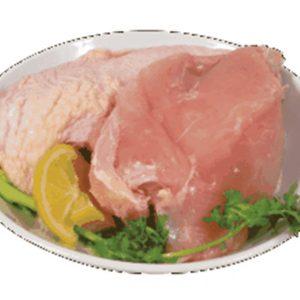 新鮮有皮雞股肉
